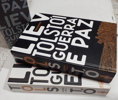 Livro Box Guerra E Paz, Vol. 1 E 2 Liev Tolstói