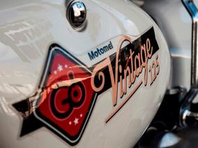 Moto 125 Motomel Vintage 2019 Megamoto