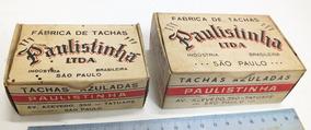 4 Caixa De Caixas De Tachinhas (nº 8 E 16) 2 De Cada!