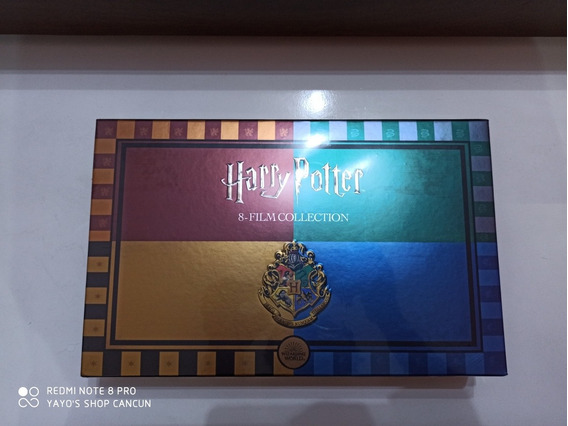 Harry Potter 8 Movie Collection Blu-ray