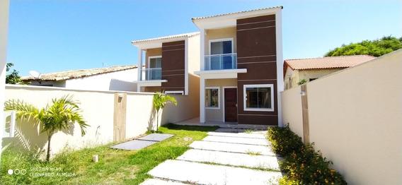 Casa Itaipuaçu 3 Quartos (2 Suítes). Próximo A Praia - 524