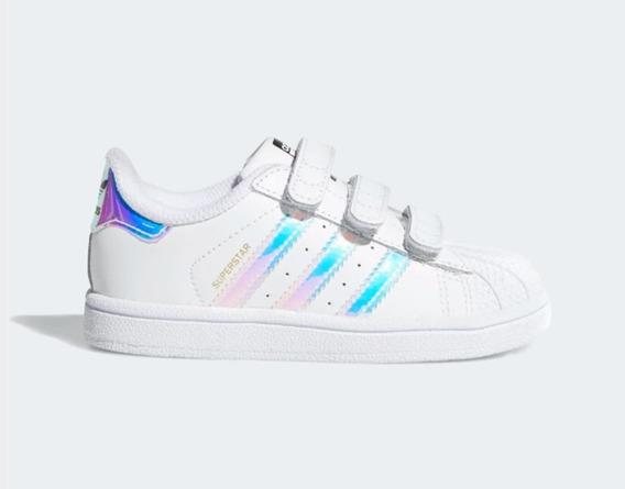 adidas Tenis Superstar Blanco - Niño Lifestyle Original