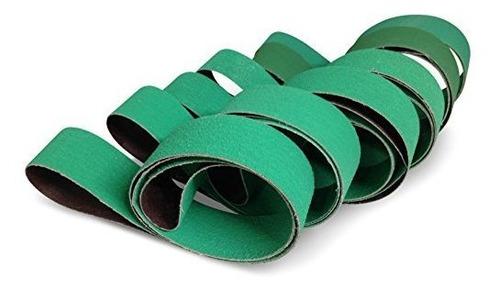 Imagen 1 de 2 de Abrasivos De Etiqueta Roja Cinturones De Lijado Para Afilar