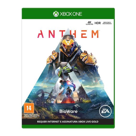 Anthem Xbox One Mídia Física Novo Lacrado