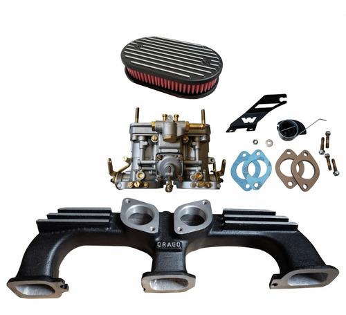 Kit Weber 40 Opala 6 Cil Á Gasolina - Calibrado Completo