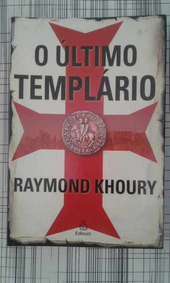 Livro O Último Templário De Raymond Khoury