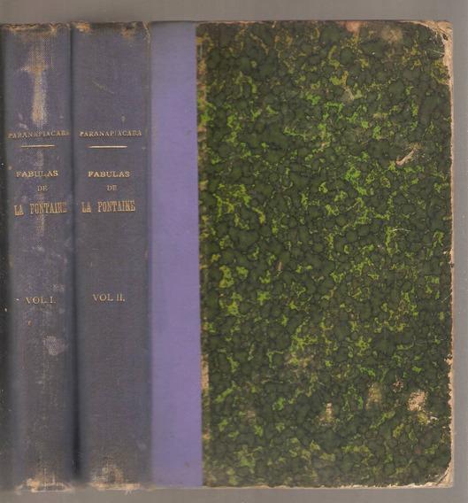 Livros 2vls.- Trad.barão De Paranapiacaba - Fábulas Fontaine
