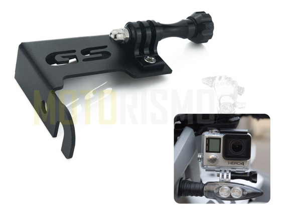 Suporte Action Cam Gopro Para Bmw R1200 Gs 1200 Go Pro R1200