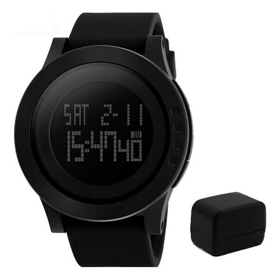 Relógio De Pulso Masculino Esportivo Skmei 1142 Preto