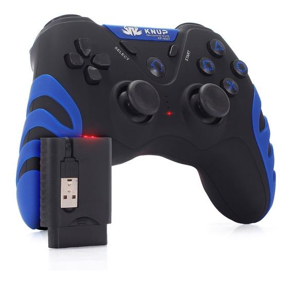Controle Joystick Sem Fio Wireless Ps3 Playstation 3 Usb Pc
