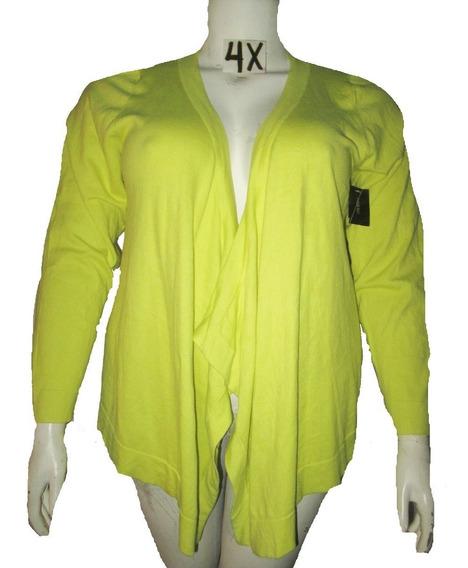 Sweater Cardigan Verde Vestir Talla 4x (46/48) Lane Bryant