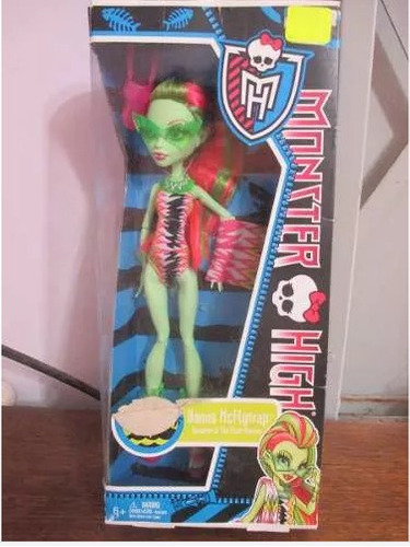 Monster High Venus Mcflytrap Daugther Of The Plant Monster