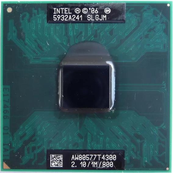 Processador Intel Dual Core T4300 Aw80577t4300 2.1ghz