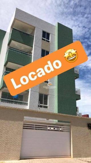 Apartamento Com 2 Dormitórios Para Alugar, 58 M² Por R$ 1.250,00/mês - Intermares - Cabedelo/pb - Ap1084