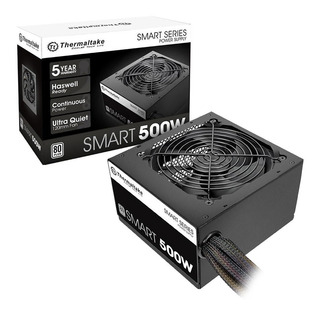 Fuente Alimentacion Pc Thermaltake Smart 500w 80 Plus White
