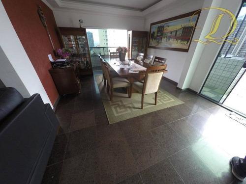 Imagem 1 de 30 de Cobertura Com 4 Dormitórios À Venda, 280 M² Por R$ 750.000,00 - Tupi - Praia Grande/sp - Co0060