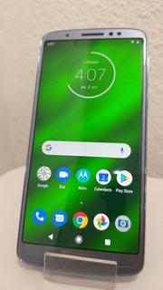 Celular Moto G6 Plus Azul 64 Gb Memoria 4 Ram Envio Gratis