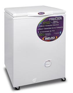 Freezer Horizontal Pozo Inelro Fih130 135 Lts Dual Blanco