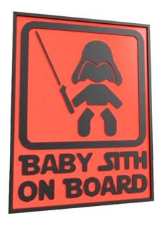 Cuadro Baby Sith De Star Wars   Decoración Premium Hogar