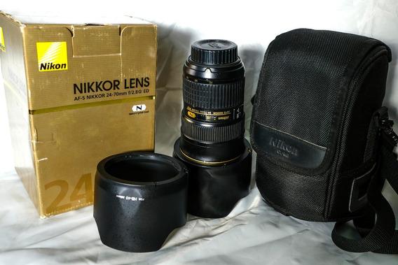 Lente 24-70 2.8 Nikon