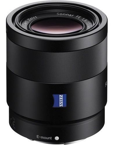 Lente Sony Sel55f18z 55mm 1.8 Zeiss / Sonnar T* Fe 55mm