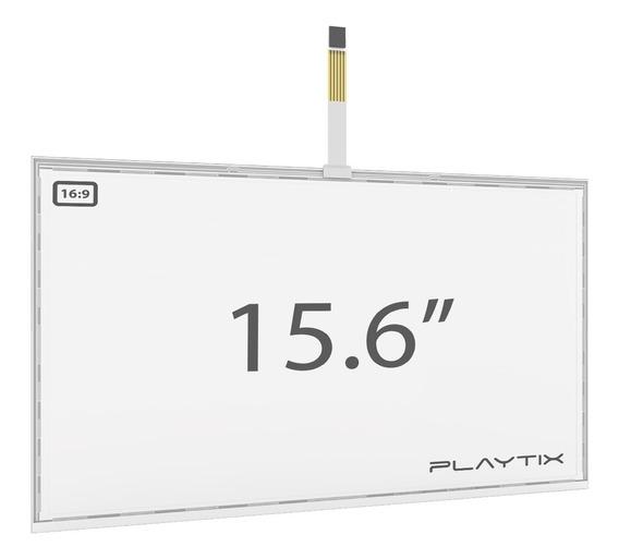 Kit Sistema Touch Screen Resistivo 15.6 Usb 5 Vias Playtix