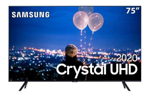 Samsung Smart Tv Crystal Uhd Tu8000 4k 75  Borda Infinita