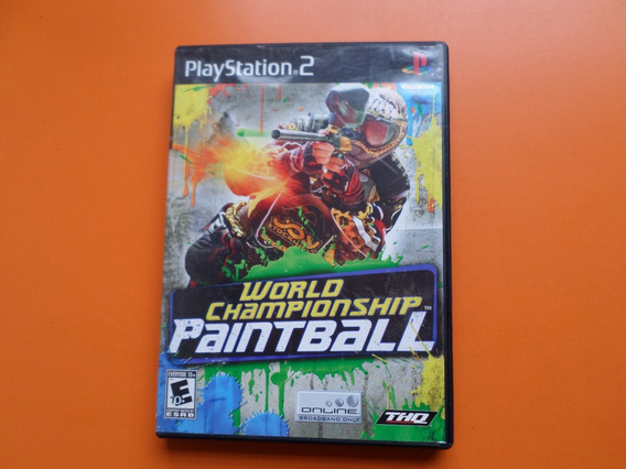 World Championship Paintball Original Completo Playstation 2