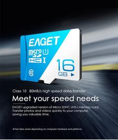 592744 Genuine Eaget Micro Sdhc / Tf Memory Ca Sob Encomenda