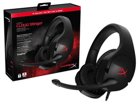 Headset Fone Gamer Hyperx Cloud Stinger - Hx-hscs-bk/na