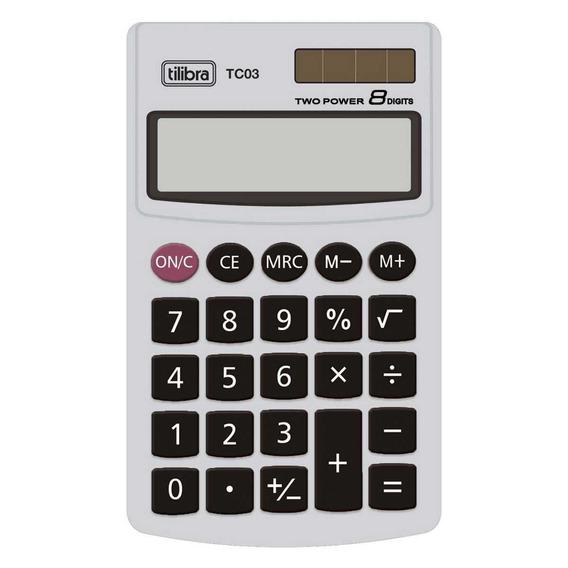 Calculadora Tc03 Cinza Tilibra