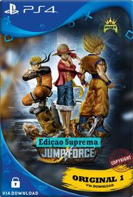 Jump Force Ps4 Cod Psn | Edição Suprema | Ps4 1 | Promoção