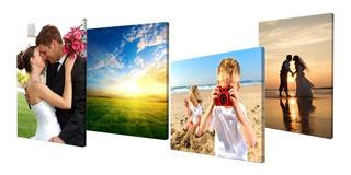 De Foto A Cuadro Canvas Personalizado Listo Para Colgar Imprime Tus Fotos 55x45cm El Regalo Perfecto