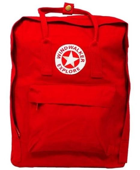 Mochila Windwalker Casual Red (tipo Kanken)