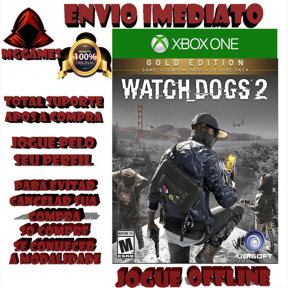 Watch Dogs®2 - Gold Edition - Jogos Xbox One Midia Digtal