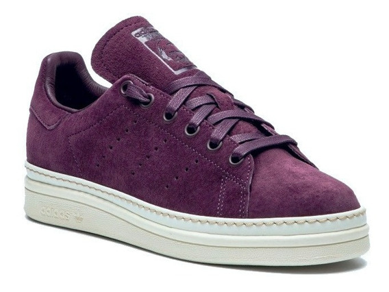 Tenis adidas Stan Smith Piel Purpura #24.5