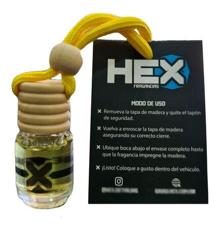 Perfume Fragancia Para Colgar Auto Hex Aromatizador