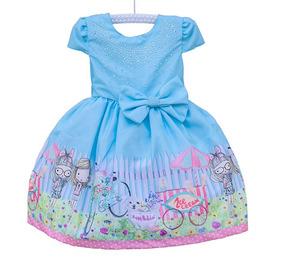 Vestido Infantil Luxo Para Festa Casamento Aniversario