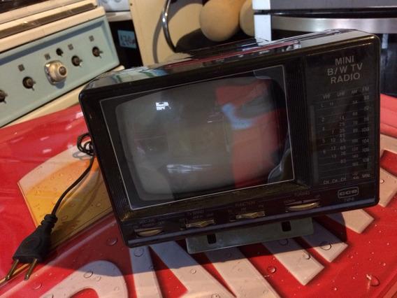 Tv Portáteis Rádio Antiga Cce Funcionando Tudo