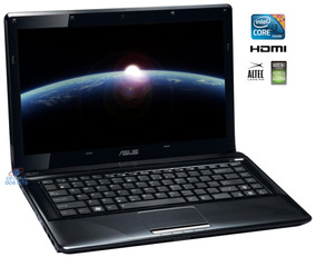 Notebook Asus I5 2.93ghz 4gb 500gb 14