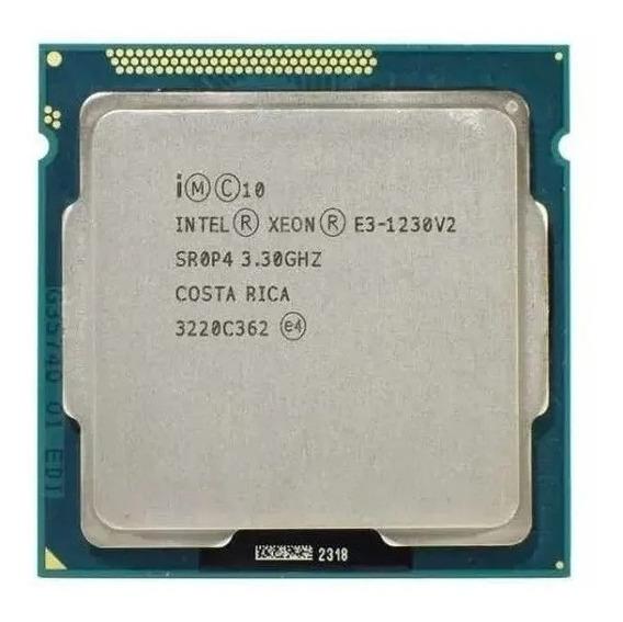 Processador Intel Xeon E3 1230v2 (i7 3770) Lga1155