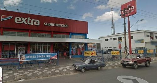 Loja Comercial Para Alugar, 358 M² Por R$ 3.500/mês - Conjunto Residencial Humaitá - São Vicente/sp - Lo0149