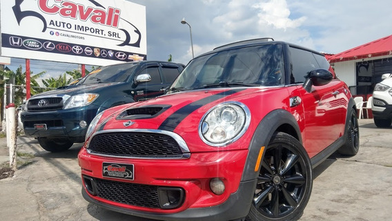 Mini Cooper S Turbo Rojo 2011