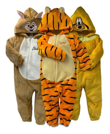 Kit 3 Mamelucos Disney Tigger, Pluto, Dale A Precio