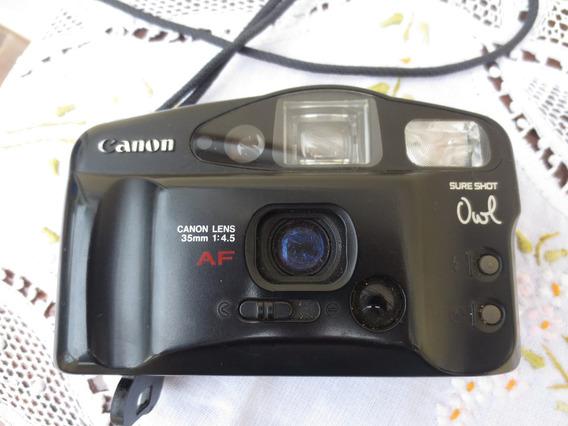 Colecionador - Camera Canon Sure Shot Owl