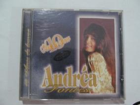 Cd Andrea Fontes - 10 Anos De Louvor - Voz E Play-back