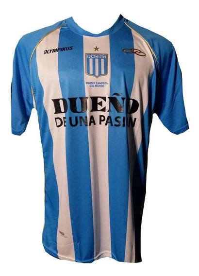 Camiseta De Racing Club 2012 Olimpikus #10 Gio Moreno Plasti