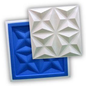 Forma 3d Gesso - Ref.38 - 38,5x38,5 Cm Plástico + Eva