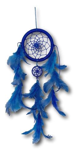 Filtro Dos Sonhos Com Penas  Azul Ref: 1035