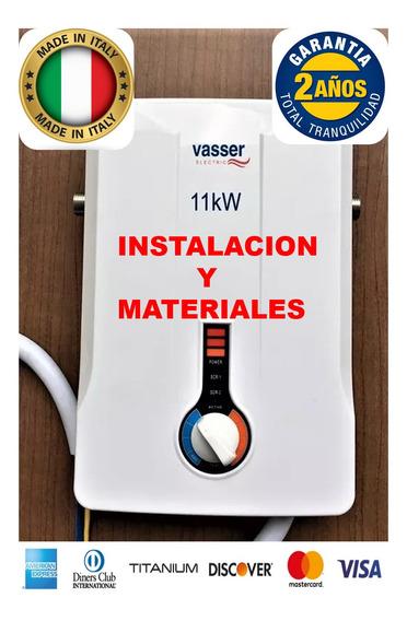 Calefon Electrico Vasser Multipunto. Nuevo Instalado